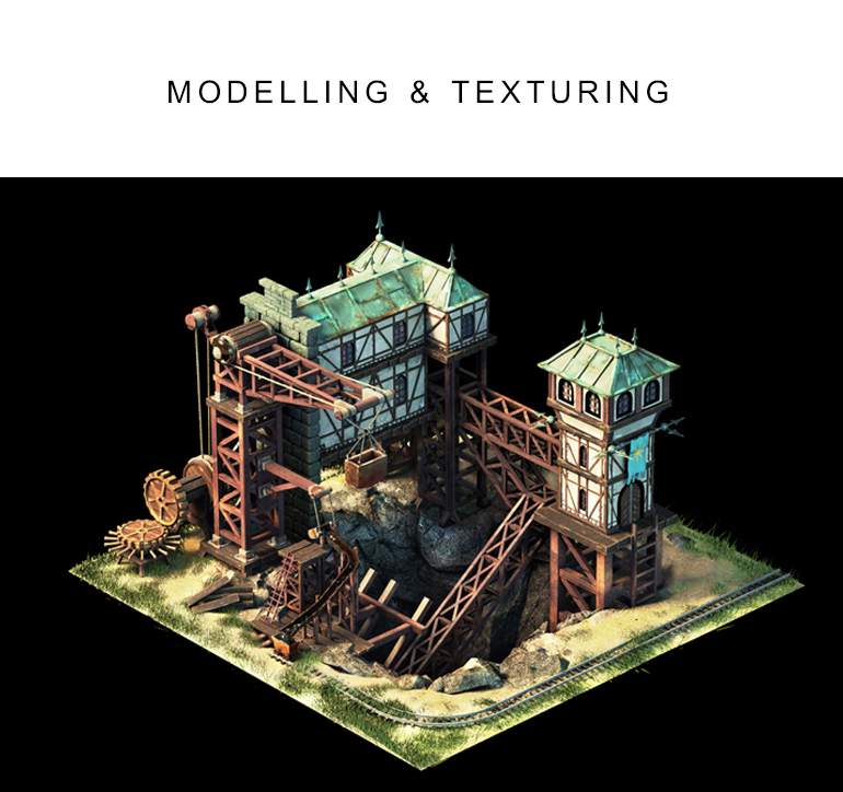 MODELLING & TEXTURING