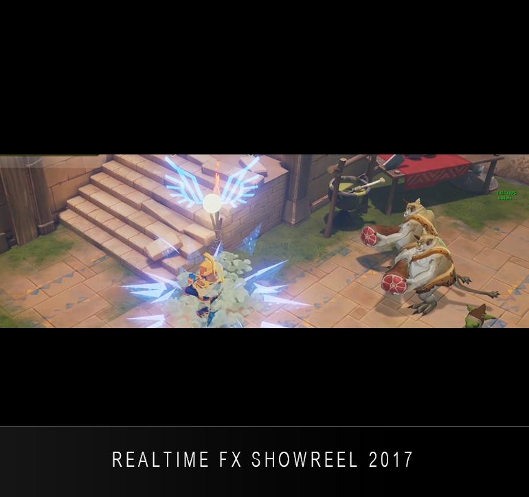REALTIME FX SHOWREEL 2017